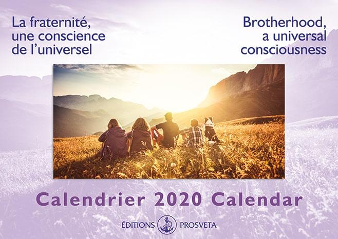 Calendar 2020: 'Brotherhood, a universal consciousness'