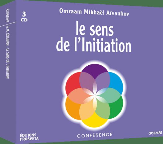 3 CD - Le sens de l'initiation
