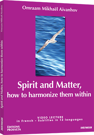 DVD NTSC - Spirit and Matter - how to harmonize them within
