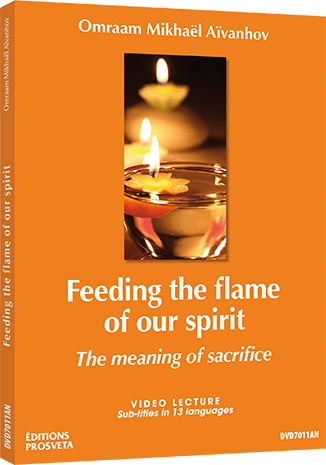 Feeding the flame of our spirit - The meaning of sacrifice - DVD NTSC