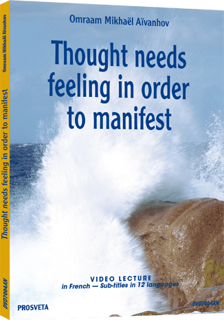 DVD PAL - Thought needs feeling in order to manifest